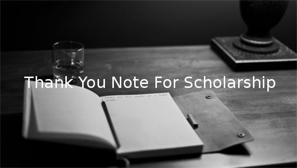 thank you note for scholarship1