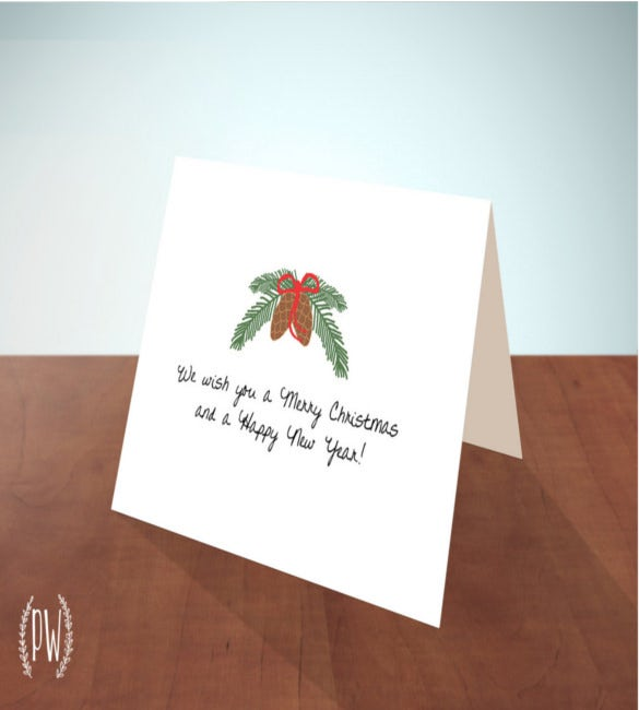 instant download printable christmas thank you notes