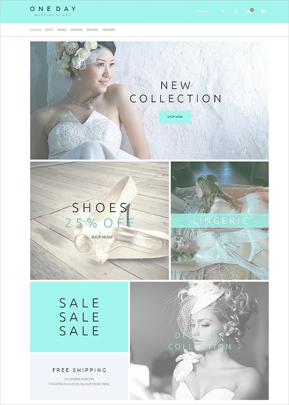 responsive wedding magento template