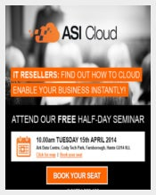 ASI Cloud Seminar Invite Email for Everyone