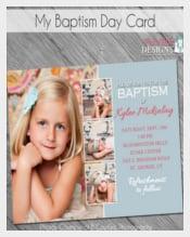 Baptism Day Invitation