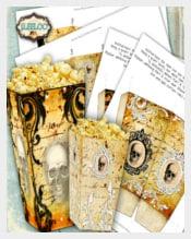 Halloween Horror PopcornTemplate