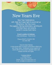 New Year eve Celebration Invitation Template