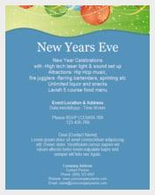 New Year eve Celebration Invitation Template