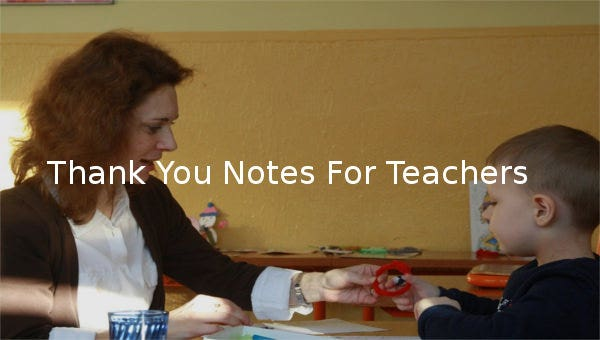 thankyounotesforteachers