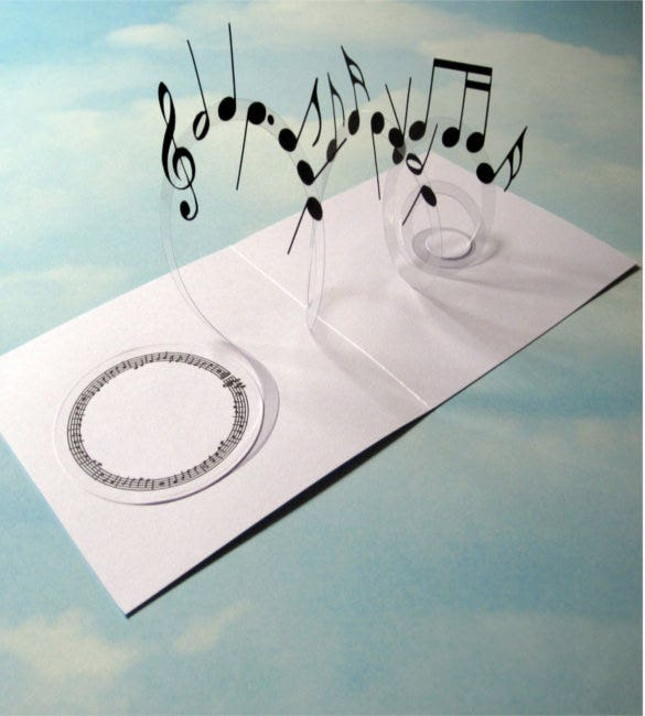 sample musical note template download