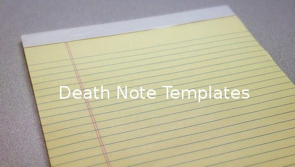 death note template1