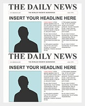 Newspaper-Front-Page-PPT-Template-Free-Download