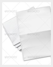 Printable-Blank-Newspapers-Pile-on-White-Background