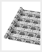 Wrapping-Old-Newspaper-Template-Download