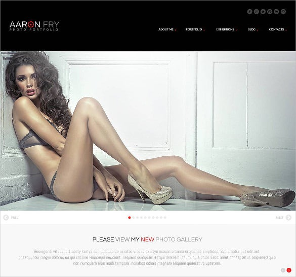 beautiful photography wordpress theme