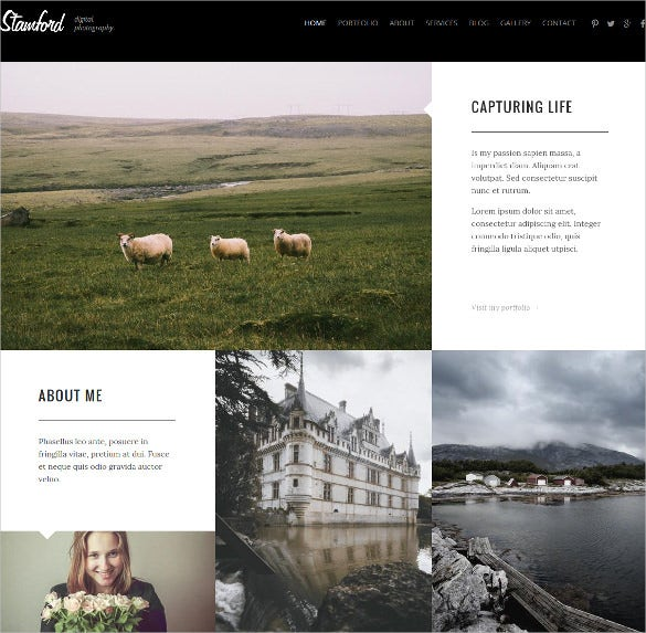 creative photography drupal theme
