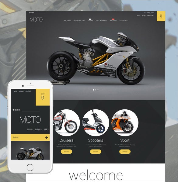 bike shop responsive prestashop blog theme