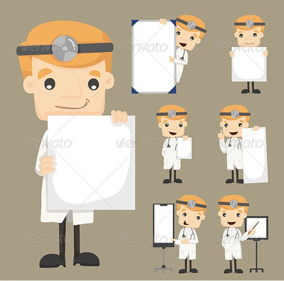 vector eps format doctor note template download