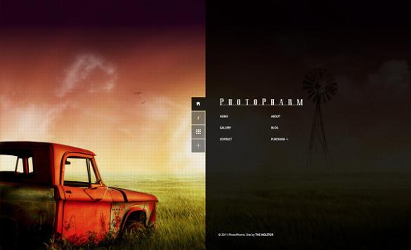 full screen photography premium blog theme