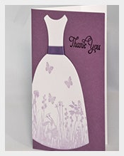 Purple-Dress-Bridal-Shower-Thank-You-Note-Cards