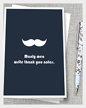 Funny-Mustache-Thank-You-Note