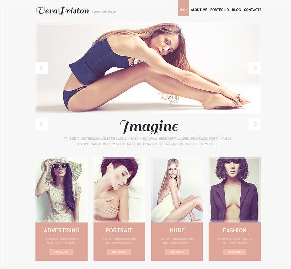 28+ Photography Website Themes & Templates | Free & Premium
