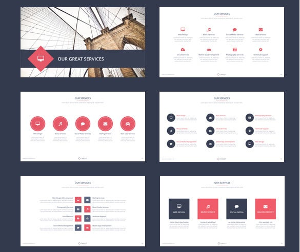 sample target keynote template download