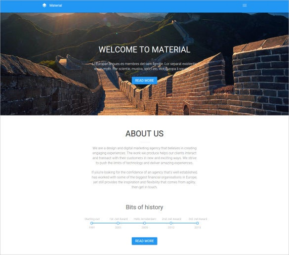 photography html5 website template