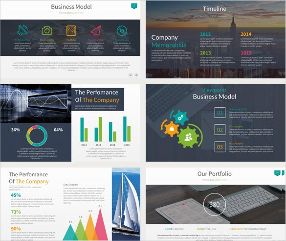 business keynote example template download