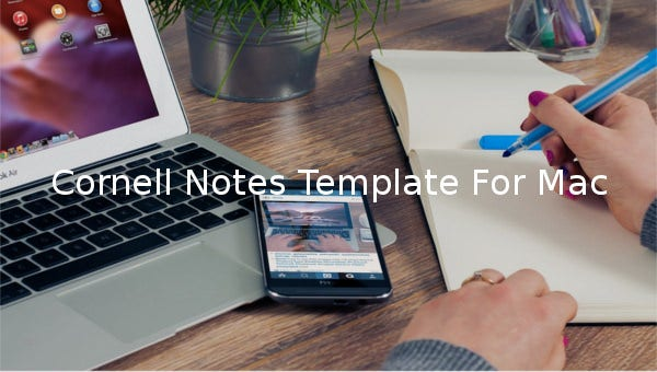 cornell notes template for mac