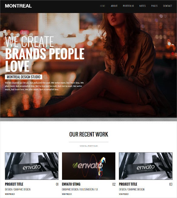 montreal interactive creative drupal theme