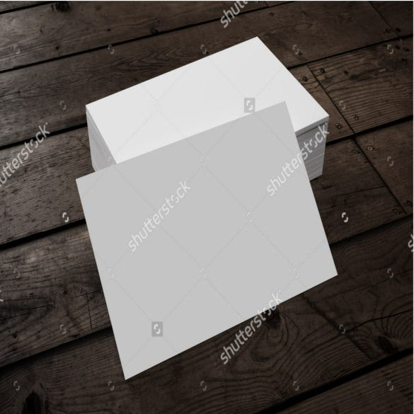 blank note card sample template download1