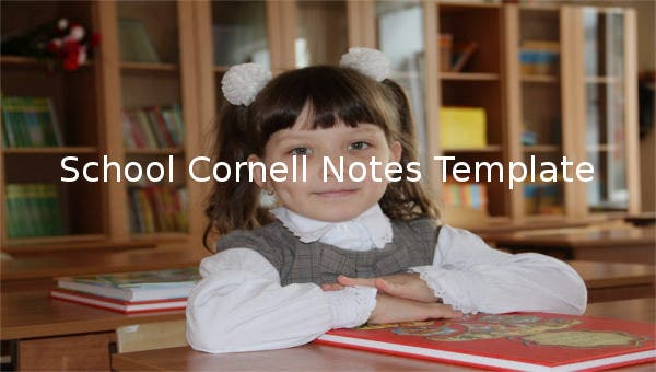 school cornell notes template