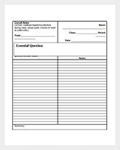 Blank-Cornell-Note-Template