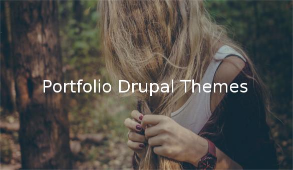 Portfolio Drupal Themes