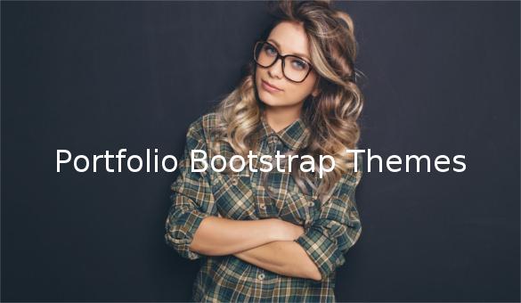 portfolio bootstrap themes1