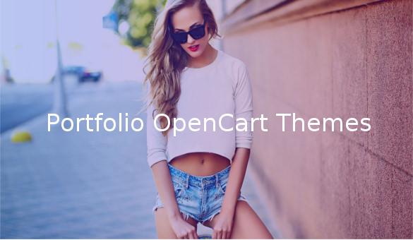 portfolio opencart themes1