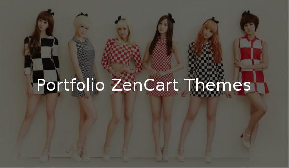 portfolio zencart themes1