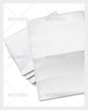 Blank-Newspapers-Pile-on-White-Background-Sample-Template-Download