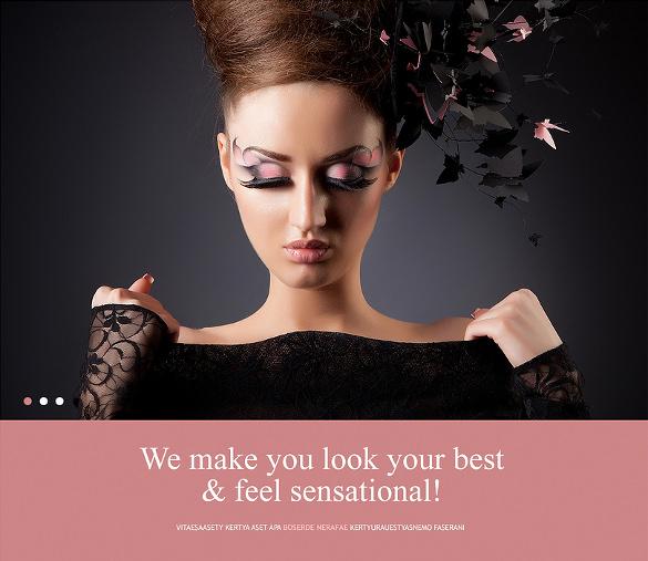 beauty salon joomla template download