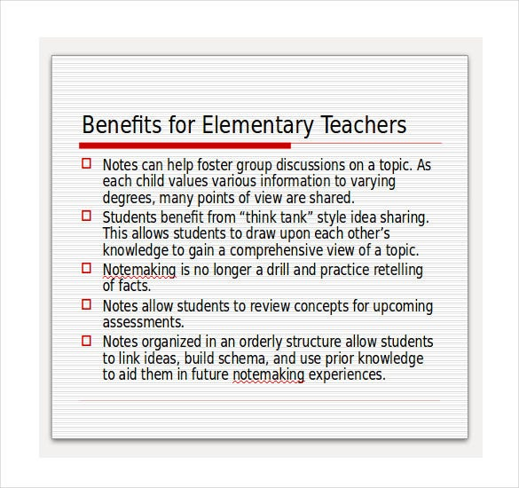 cornell notes powerpoint for elementary1