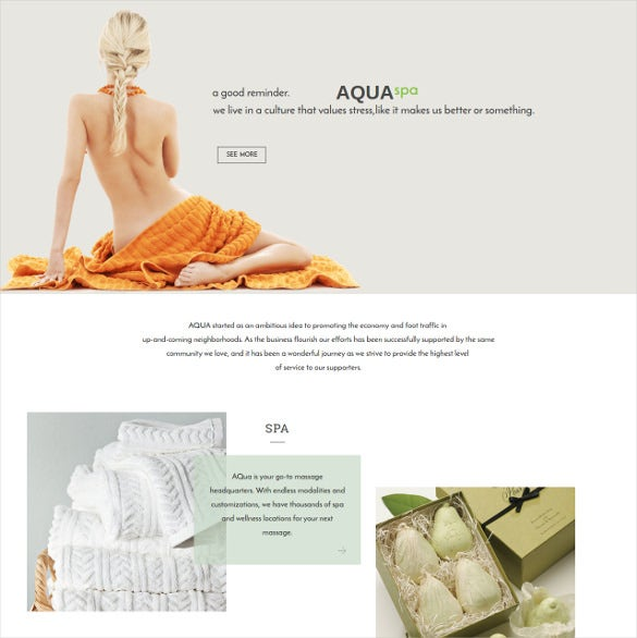 spa beauty commerce drupal theme