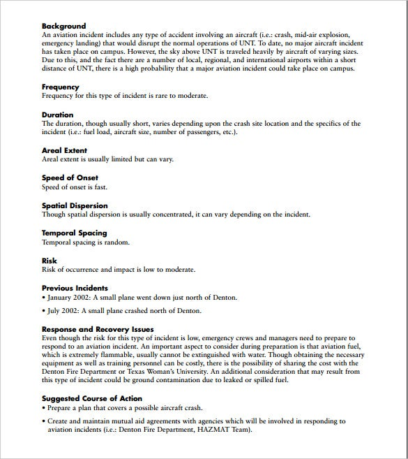 Hazard Vulnerability Analysis Template Download  Hazard Analysis Template