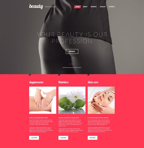 treatments for celulite website blog template