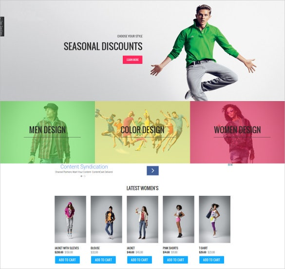 pretty fashion store virtuemart template