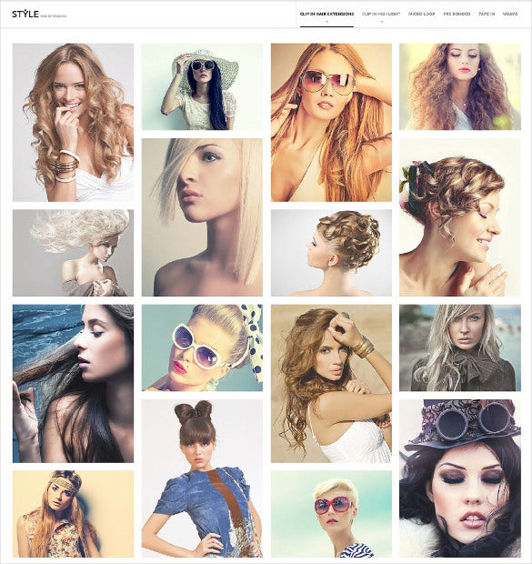 hairstyle salon prestashop html5 theme