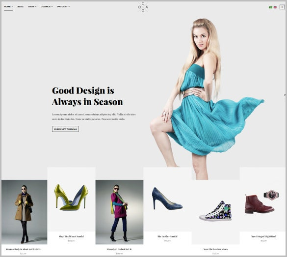 responsive joomla fashion virtuemart template