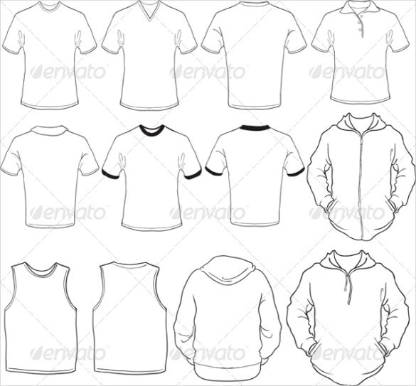 blank shirt template for mock ups1