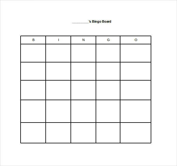 bingo board teacher tools