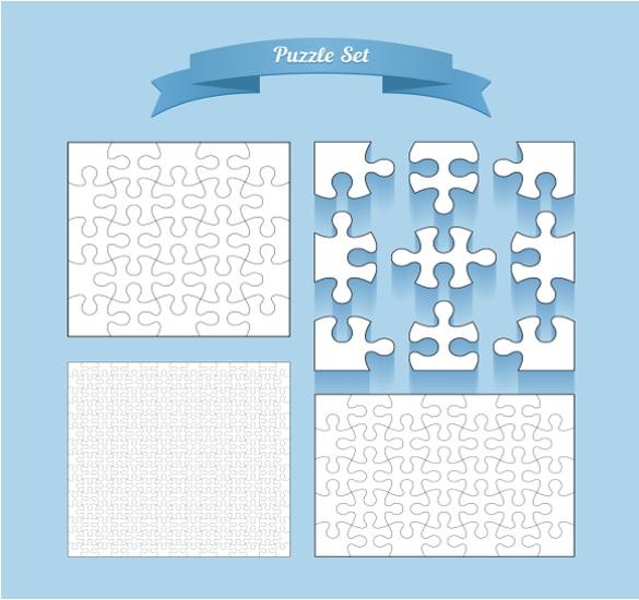 blank puzzle set