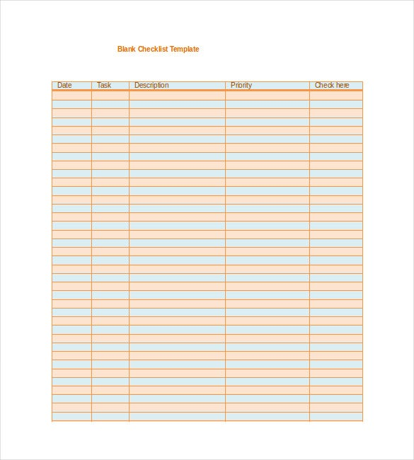Blank Template   Free Word Excel Pdf Psd Eps Documents