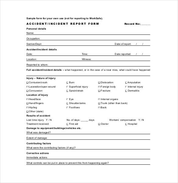 Report Template – 21+ Free Word, Excel, PDF, Documents Download ...