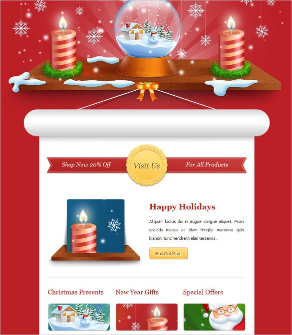 exclusive new year newsletter outllok format download