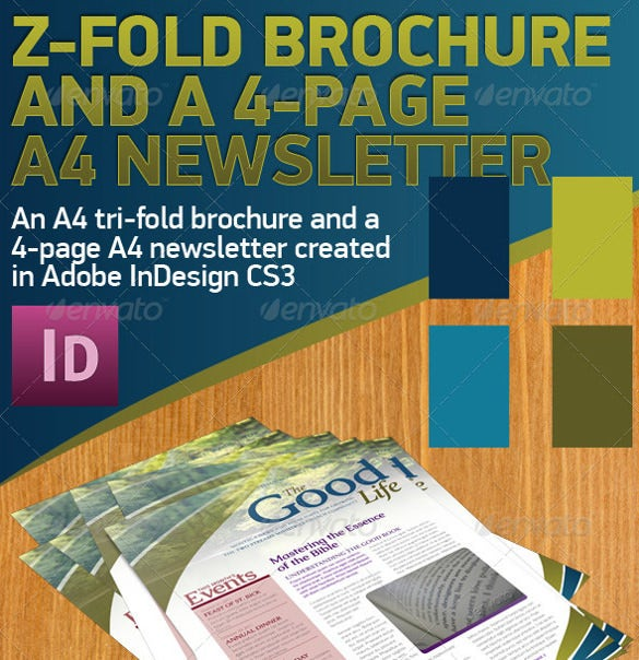 tri fold brochure publisher template - 28 newsletter templates word pdf publisher indesign